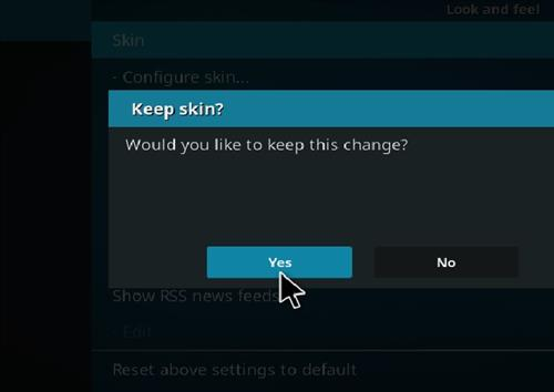 How to change the Skin back to Default Estuary xenox step 5