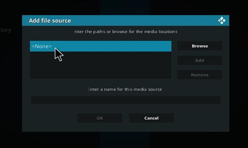 How to install Redemption Add-on for Kodi 18 Leia step 4