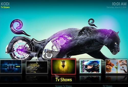 Best Working Kodi 18 Leia Supremacy Black