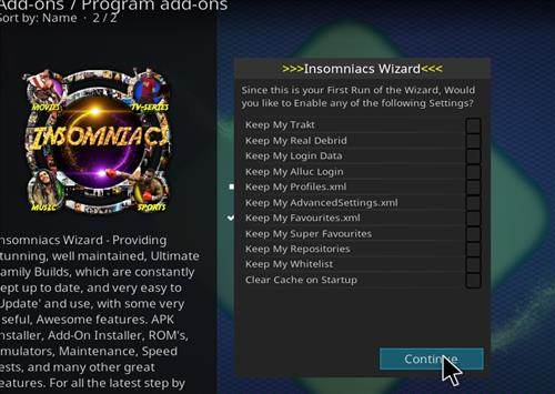 How to Install Black and Gold Kodi 18 Build Leia step 21