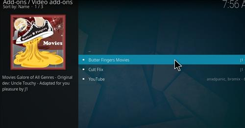 How to Install Butter Fingers Movies Kodi 18 Leia Add-on step 18