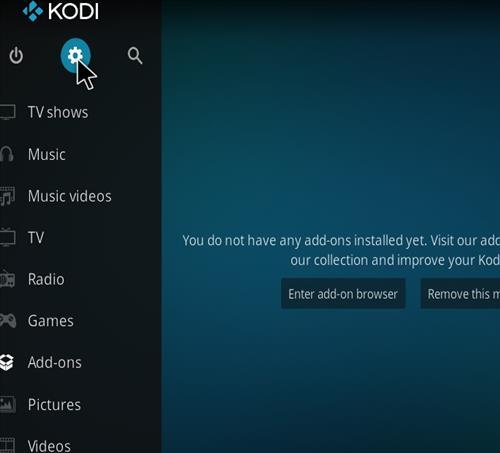 How to Install Cellar Door TV Kodi 18 Build Leia step 1