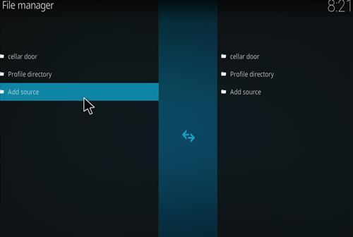 How to Install Cellar Door TV Kodi 18 Build Leia step 3