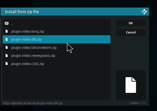How to Install Death from Above Kodi 18 Leia Add-on step 12