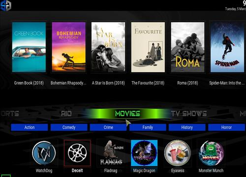 How to Install SG Blue Kodi Build 18 Leia pic 1