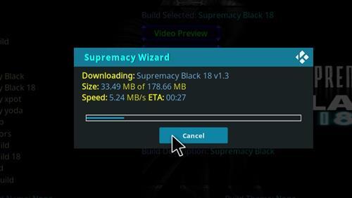 How to Install Supremacy Black 18 Kodi Build Leia step 26