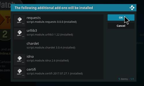 How to Install WatchNixtoons2 Kodi 18 Leia Add-on step 19