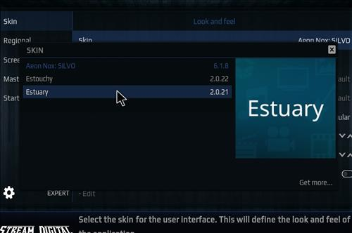How to change the Skin back to Default Estuary bk nox 18 step 4