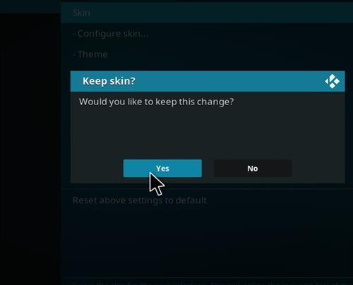 How to change the Skin back to Default Estuary bk nox 18 step 5