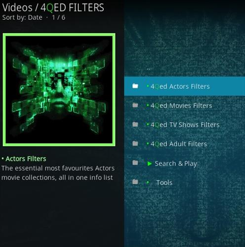 How to Install 4Qed Filters Kodi 18 Leia Add-on pic 2