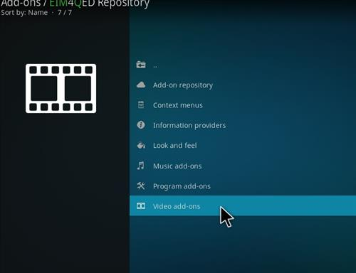 How to Install 4Qed Filters Kodi 18 Leia Add-on step 16
