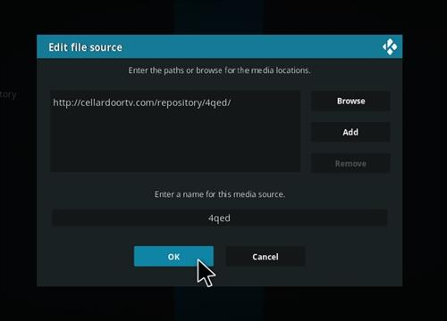 How to Install 4Qed Filters Kodi 18 Leia Add-on step 7