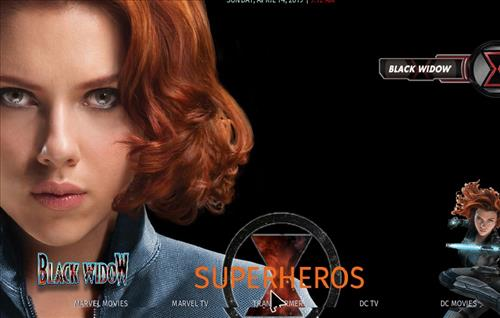 How to Install Black Widow Kodi 18 Build Leia pic 1