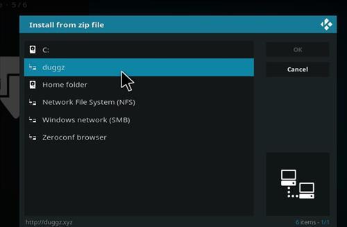How to Install Duggz All in one Kodi 18 Build Leia step 11