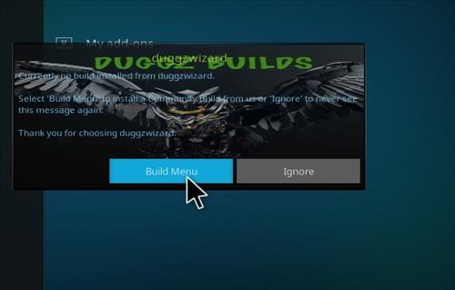 How to Install Duggz All in one Kodi 18 Build Leia step 16