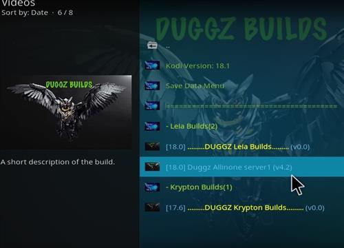 How to Install Duggz All in one Kodi 18 Build Leia step 17