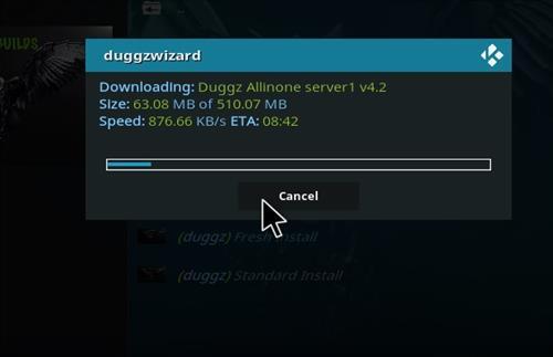 How to Install Duggz All in one Kodi 18 Build Leia step 20
