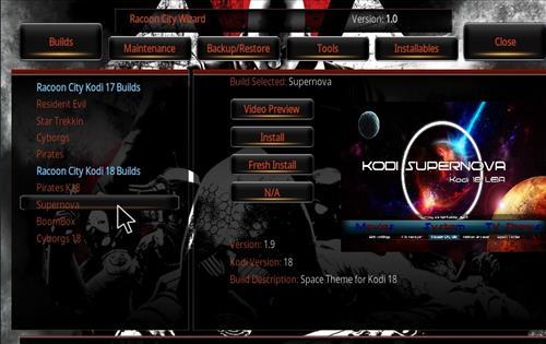 How to Install Supernova Kodi 18 Build Leia step 22