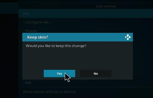 How to change the Skin back to Default Estuary fury step 5