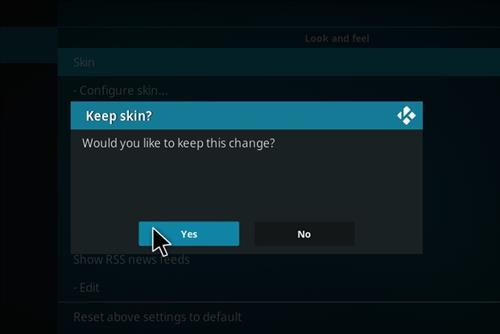 How to change the Skin back to Default Estuary kryptonic step 5