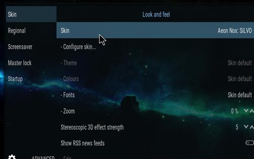 How to change the Skin back to Default Estuary supernova step 3