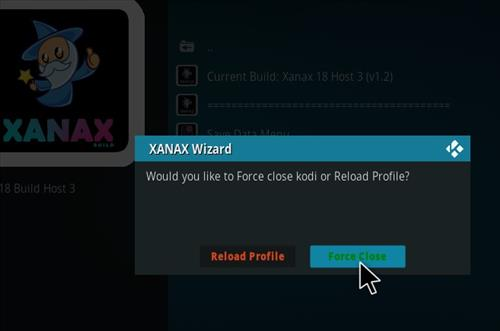 How to install Xanax Build on Kodi 18 Leia step 25