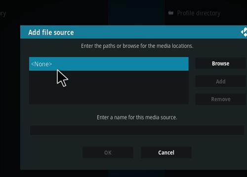 How to install Xanax Build on Kodi 18 Leia step 4